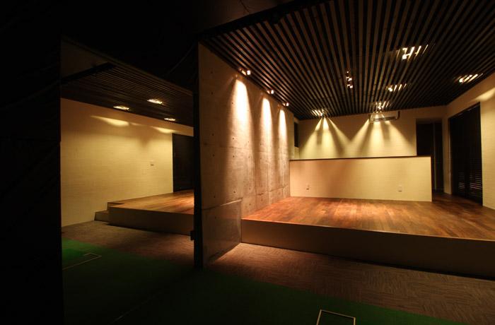 彩庵の家(夜)